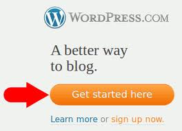 sign up word press